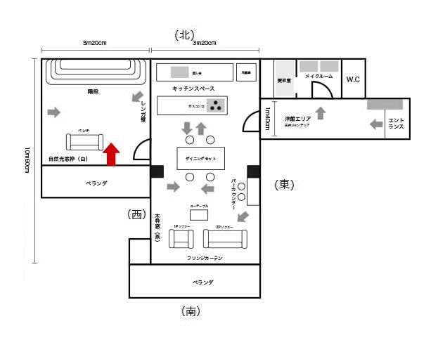 4号館小部屋、階段の反対から
