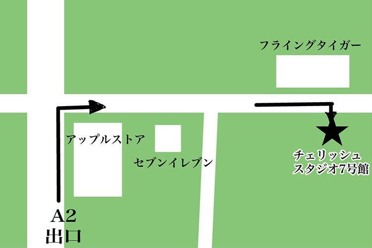 7号館への詳細な道案内